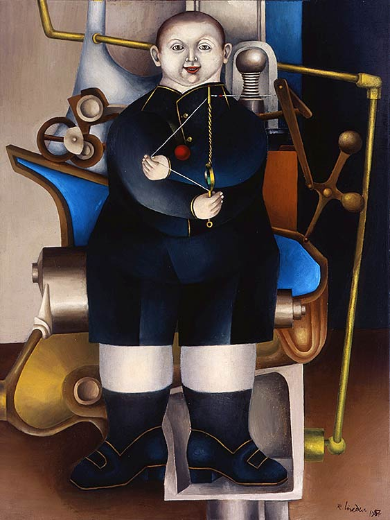 Richard Lindner, Boy with Machine