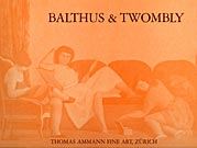 Catalogue 'Balthus & Twombly' 1982