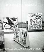 Catalogue Willem de Kooning 1999
