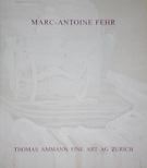 Catalogue Marc-Antoine Fehr 2006