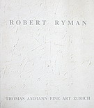 Catalogue Robert Ryman 2002