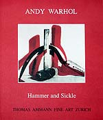 Catalogue Andy Warhol 'Hammer and Sickle' 1999